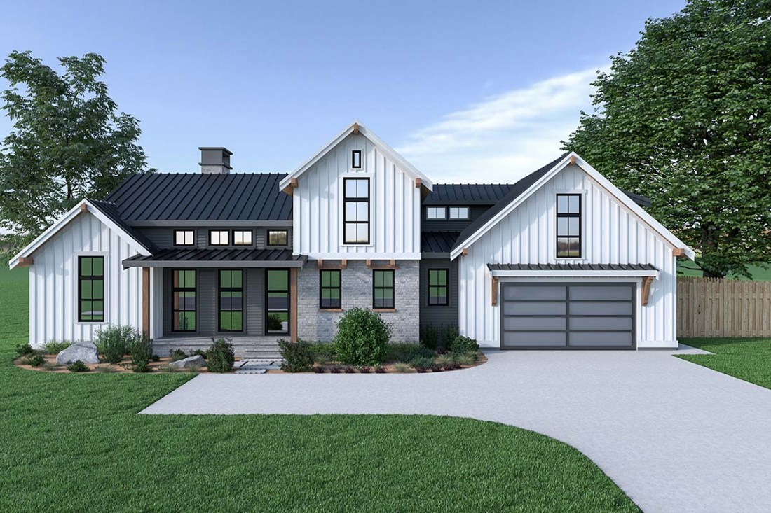Farmhouse Plan With Pictures