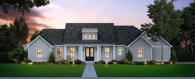Southern Style House Plan