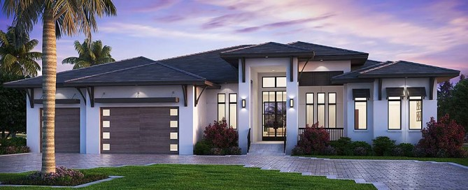 Best Selling Florida Style House Plan