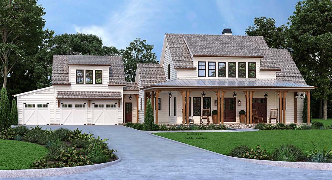 Rustic Country House Plan