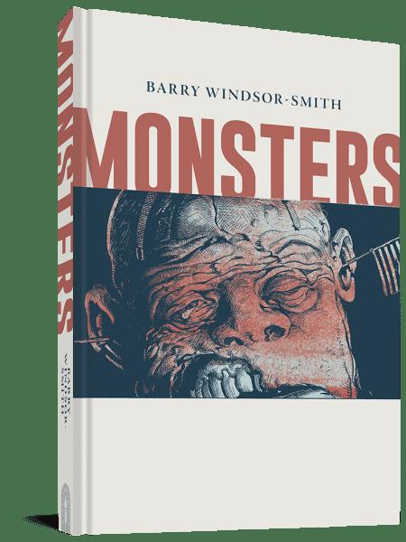 Barry Winsdor-Smith Monsters Graphic Novel Cover