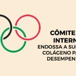 COI endossa a suplementação de Colágeno para desempenho esportivo