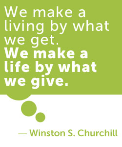 volunteering - churchill