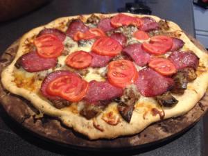 Grace Taylor's Melanzana de Annamaria Pizza
