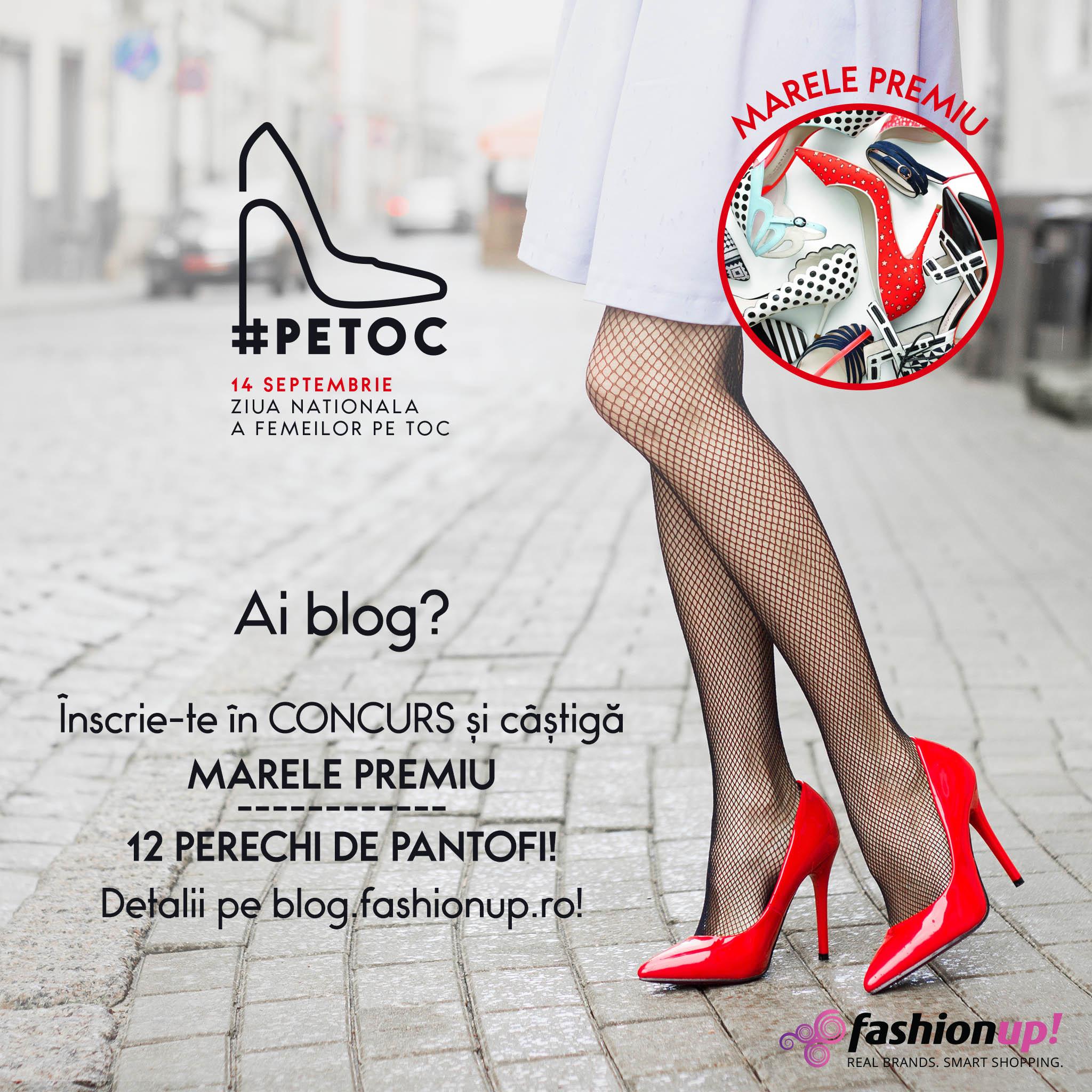 Concurs bloggeri FashionUp #PeToc