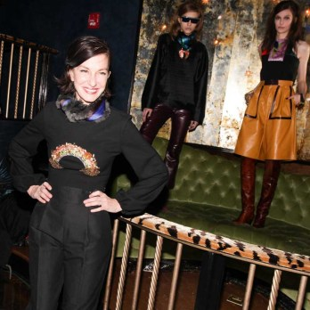 CYNTHIA ROWLEY Fall/Winter 2014 Presentation