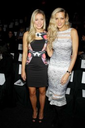 Katrina Bowden and Petra Nemcova