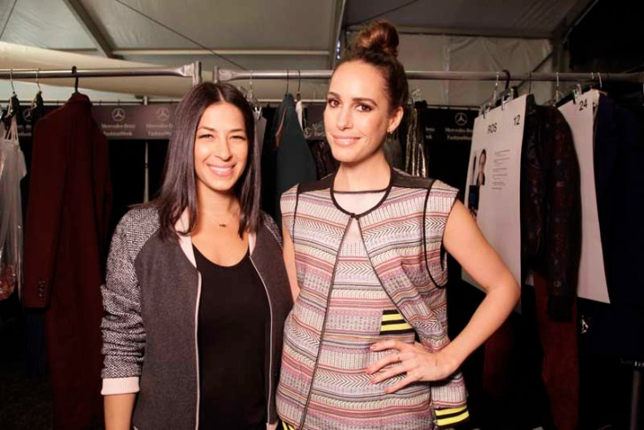 Rebecca Minkoff and Louise Roe