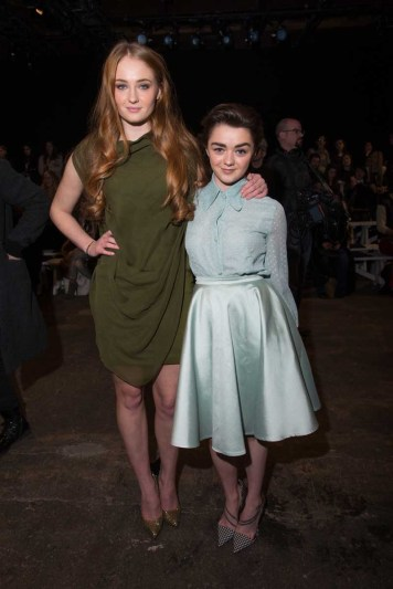 Sophie Turner, Maisie Williams