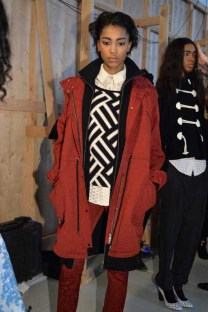 Tracy Reese F14 backstage (2)
