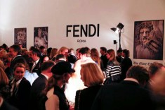 Karl Lagerfeld 'The Glory Of Water' exhibition vernissage