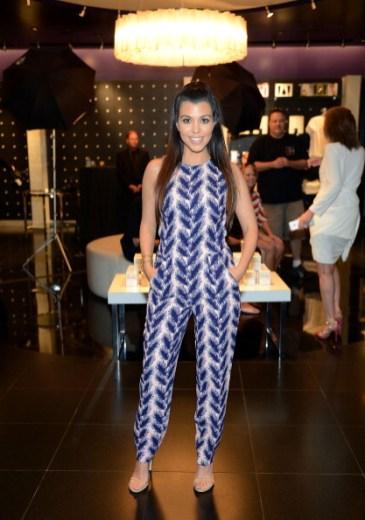 Kourtney Kardashian Special Appearance At Kardashian Khaos at The Mirage