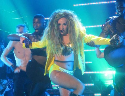 Lady Gaga performs at Roseland Ballroom, NYC