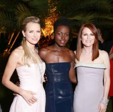 Naomi Watts, Lupita Nyong'o, Julianne Moore