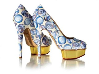 'M&M Shoes', 2014, Marilyn Minter, Charlotte Olympia for Stepping Up For Art. Photographer Liam Goodman