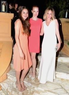 Shailene Woodley;Jessica Chastain;Ludivine Sagnier
