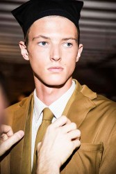 PerryEllis_SS15_Backstage_Model4