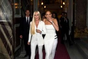 Donatella Versace Jennifer Lopez