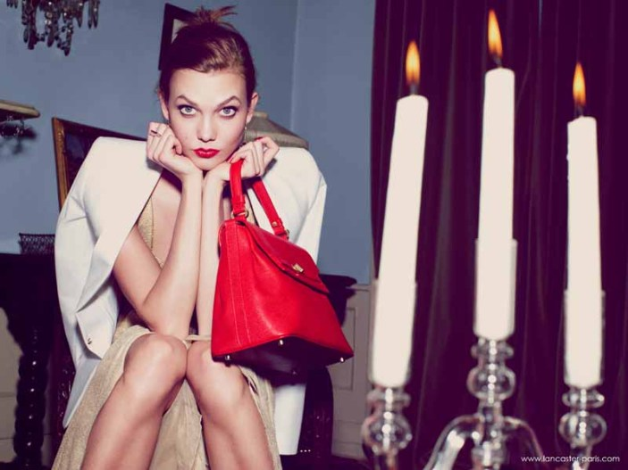 Karlie Kloss for Lancaster Paris Holiday 2014 (9)