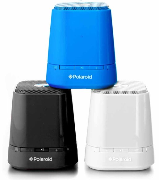 Polaroid Bluetooth speakers $50