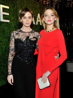 Emily Blunt and Haley Bennet