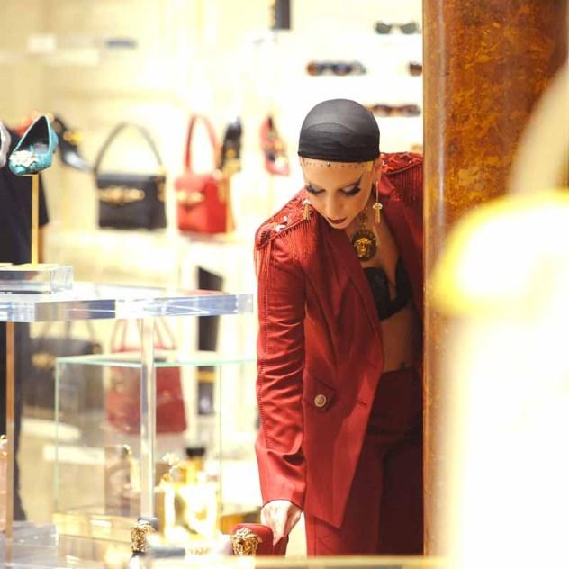 Lady Gaga in Versace 11-5-2014 (2)