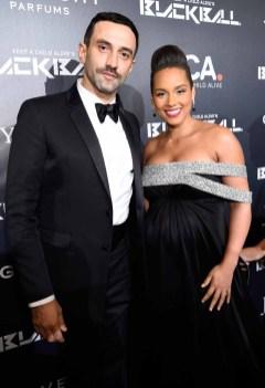 Riccardo Tisci and Alicia Keys