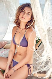 Beach Sexy The Tassel Teeny Triangle Top $36.50 & Beach Sexy The Tassel Teeny Bikini Bottom $30.50