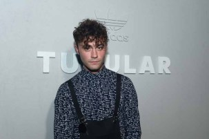 PARIS, FRANCE - JUNE 25: Mikky Ekko attends the Adidas Originals Tubular Paris Fashion Week Performance on June 25, 2015 in Paris, France. (Photo by Dominique Charriau/Getty Images) *** Local Caption *** Mikky Ekko