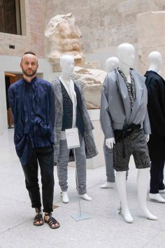 BERLIN, GERMANY - JULY 06: Tomasz Szadel during the award ceremony European Fashion Award FASH 2015 by SDBI at Neues Museum Berlin on July 6, 2015 in Berlin, Germany. (Photo by Isa Foltin/Getty Images for FASH2015_SDBI.DE)