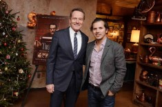 Bryan Cranston, John Leguizamo==A Celebration for Bryan Cranston==Elyx House NYC, ==December 13, 2015==©Patrick McMullan==Photo - Clint Spaulding / PMC== ==