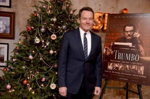 Bryan Cranston==A Celebration for Bryan Cranston==Elyx House NYC, ==December 13, 2015==©Patrick McMullan==Photo - Clint Spaulding / PMC== ==