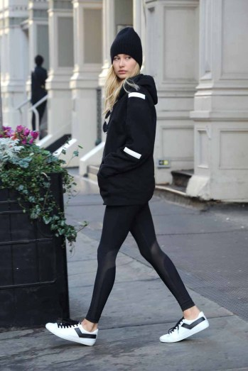 - New York, NY - 12/10/2015 - Hailey Baldwin was seen rocking a pair of PONY topstar sneakers in New York City -PICTURED: Hailey Baldwin -PHOTO by: Michael Simon/startraksphoto.com -MS299459 Editorial - Rights Managed Image - Please contact www.startraksphoto.com for licensing fee Startraks Photo Startraks Photo New York, NY For licensing please call 212-414-9464 or email sales@startraksphoto.com Image may not be published in any way that is or might be deemed defamatory, libelous, pornographic, or obscene. Please consult our sales department for any clarification or question you may have Startraks Photo reserves the right to pursue unauthorized users of this image. If you violate our intellectual property you may be liable for actual damages, loss of income, and profits you derive from the use of this image, and where appropriate, the cost of collection and/or statutory damages.