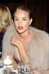 LOS ANGELES, CA - JANUARY 13: Model/actress Rosie Huntington-Whiteley attends the Galvan For Opening Ceremony Dinner Hosted By Swarovski at Private Residence on January 13, 2016 in Los Angeles, California. (Photo by Donato Sardella/Getty Images for Galvan)