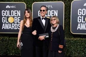 Olivia Grant, nominee Richard E. Grant, and Joan Washington