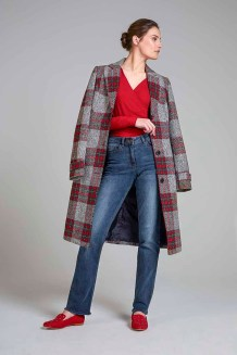 Long Tall Sally Check City Coat