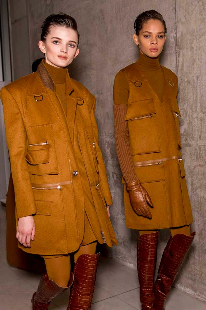Max Mara Fall 2019 backstage