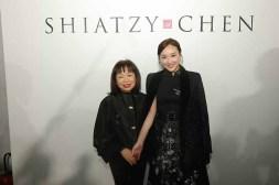 SHIATZY CHEN品牌創辦人暨設計總監王陳彩霞女士及香港女演員陳瀅