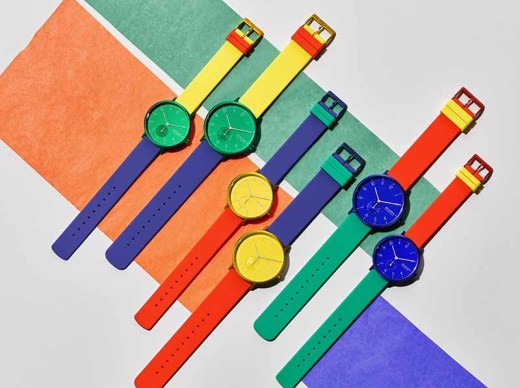 Skagen Color Block Watches