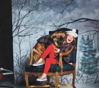Janie and Jack Holiday Dog Lifestyle