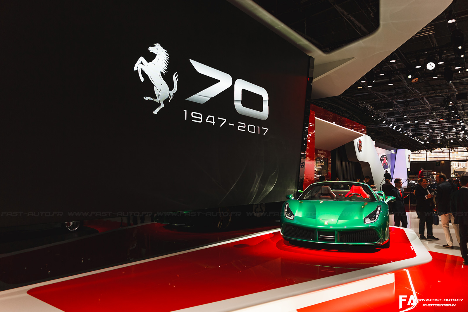 Ferrari au Mondial de l'Automobile Paris 2016 - Photos