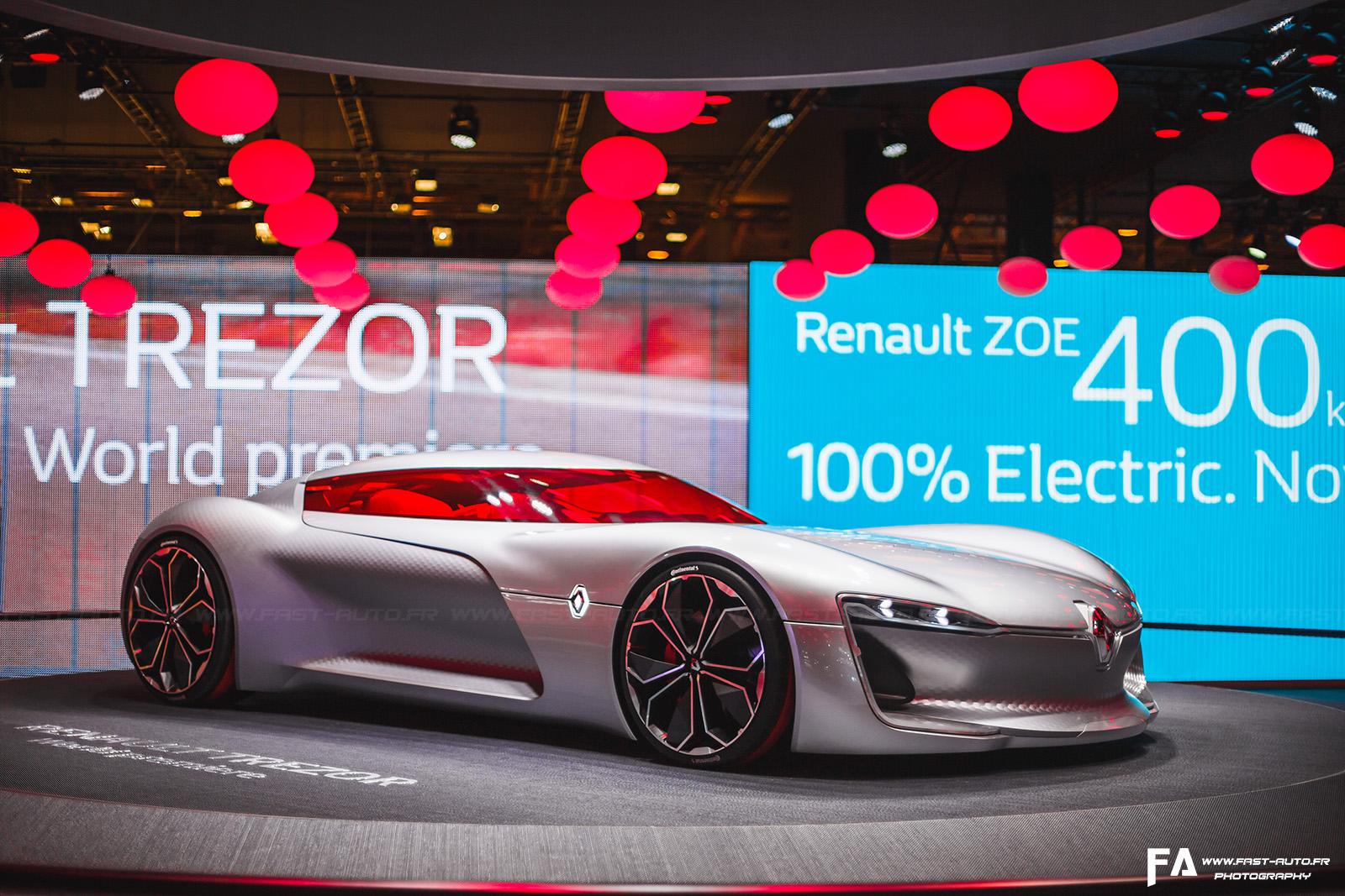 Renault Trezor Concept Mondial de l'Automobile Paris 2016 - Photos