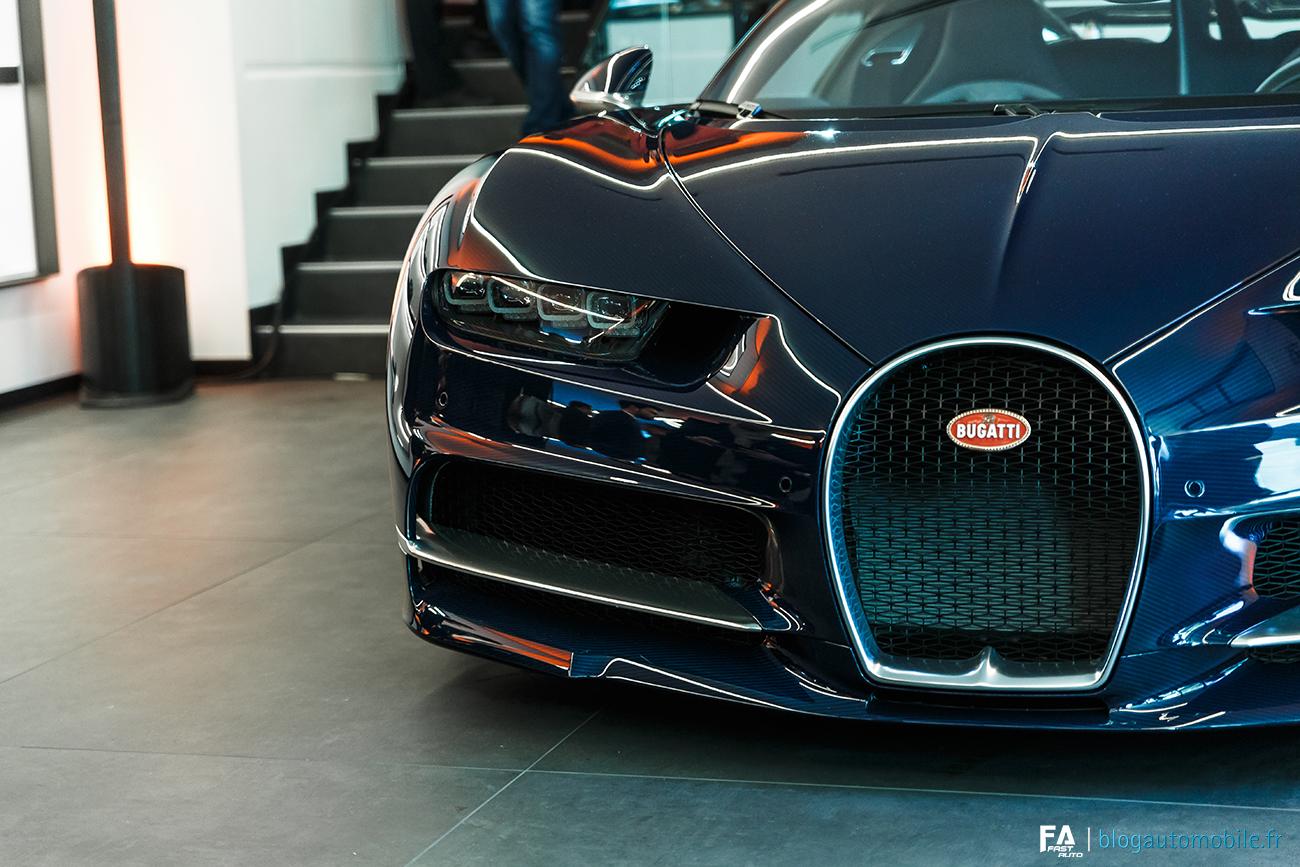 Bugatti Paris - Stephan Winkelmann et Edouard Schumacher