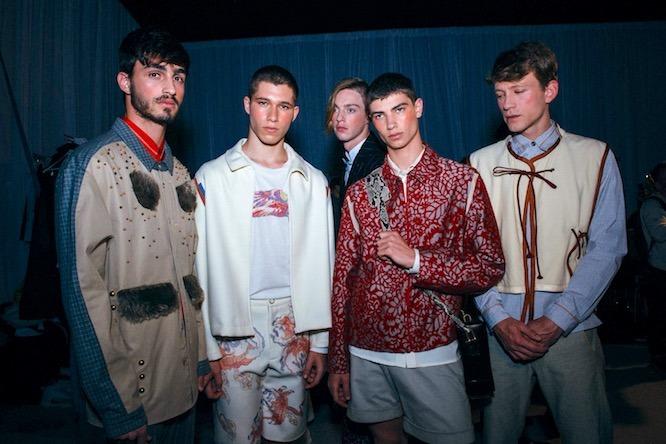 Défilé de la Maison Errant à la Fashion Week tel Aviv 2018