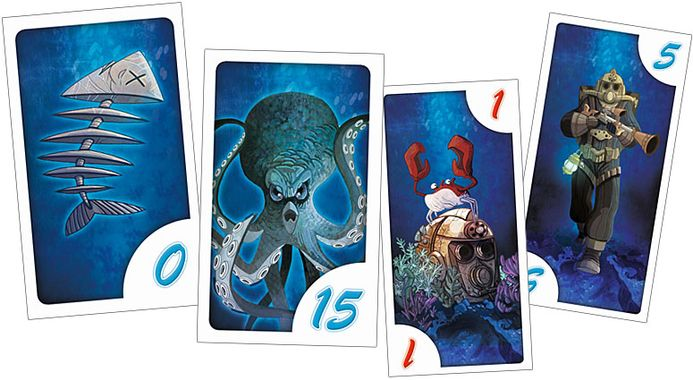 """Quelques cartes extraites du jeu à sensations fortes """"Nautilus"""" de Charles Chevallier"""