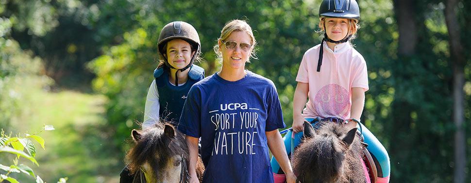 L'équitation chez UCPA