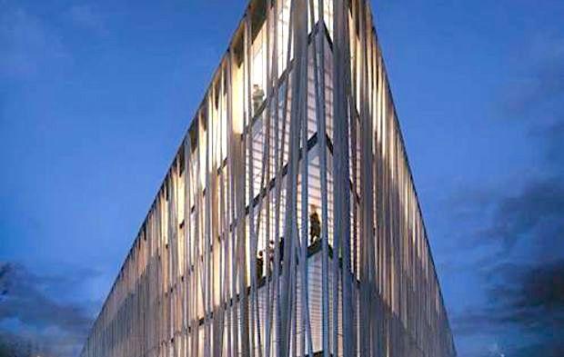 Le nouveau site de la marque Chanel à Aubervilliers par Rudy Ricciotti