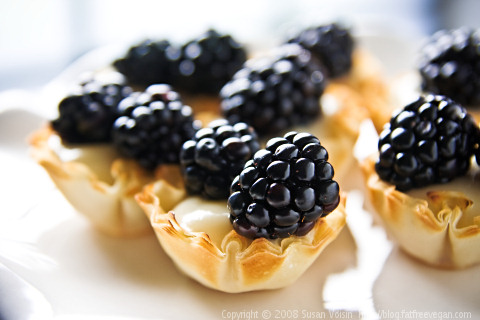 Blackberry-Lime Tartlets