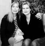One of the things feminists hate: Joni Mitchell and her daughter Kilaureen Gibbs