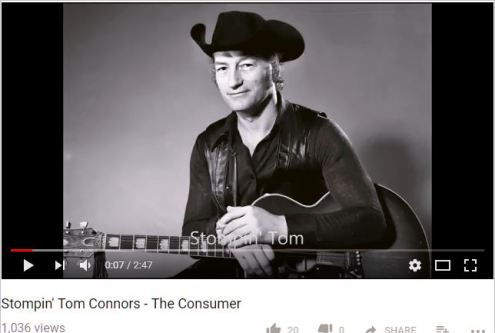 Consumers, described by Stompin Tom Connors